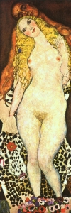 Klimt Adam and Eve 1917~18
